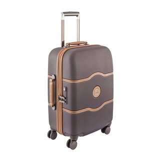 """DELSEY Paris Chatelet Hard+ 21"""" Hardside 4 Wheel Spinner Carry On Suitcase"""