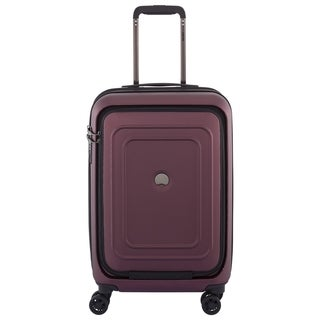 "DELSEY Paris Cruise Lite Hardside 21"" Carry-On Expandable Spinner Trolley Suitcase"