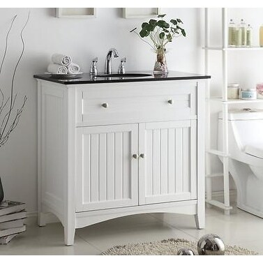 37 Benton Collection Thomasville White Cottage Style Bathroom Vanity