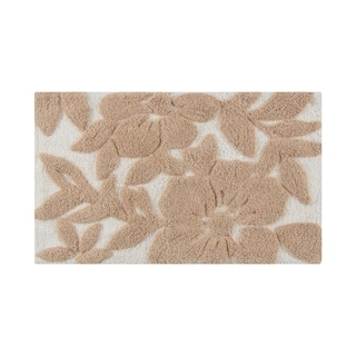 Burlington Tufted Leaf Bath mat