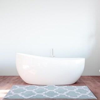 Grosvenor Quatrefoil Tufetd Bath mat