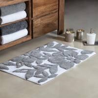 Burlington Tufted Leaf Bath mat