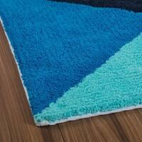 Avoriaz Large Geo Tufted Bath mat