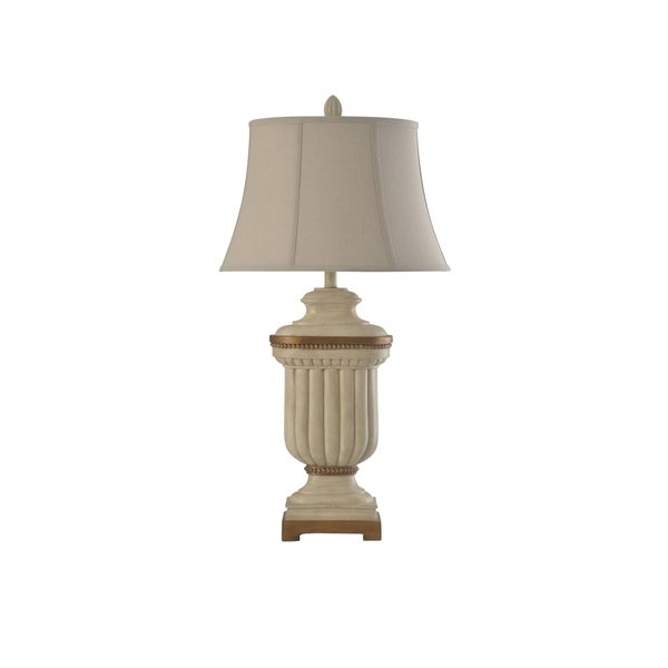 Summerhill Cream Table Lamp - Taupe Softback Shade