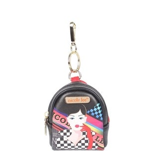 Keychain Racing Girl Mini Backpack Collection