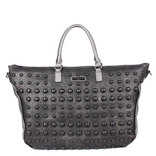 Mavis Black Pearl Duffle Bag