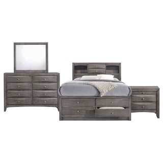 Picket House Furnishings Madison Full Storage 4PC Bedroom Set