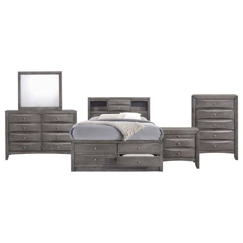Picket House Furnishings Madison Queen Storage 5PC Bedroom Set
