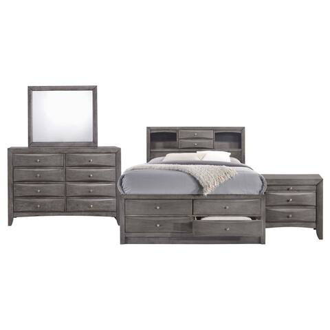Picket House Furnishings Madison Queen Storage 4PC Bedroom Set