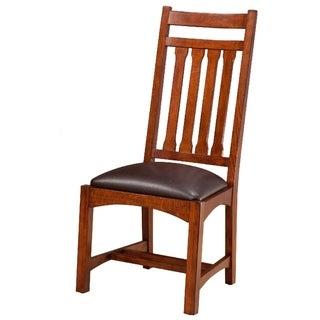 Oak Park Mission Narrow Slat Side Chair (Set of 2)
