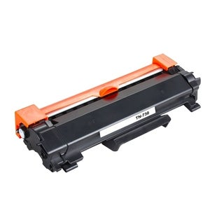 1PK Compatible TN730 Toner Cartridge NO CHIP For Brother DCP-L2550DW HL-L2350DW HL-L2390DW HL-L2395DW HL-L2370DW ( Pack of 1 )