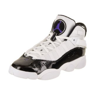 Nike Jordan Kids Jordan 6 Rings BG Basketball Shoe