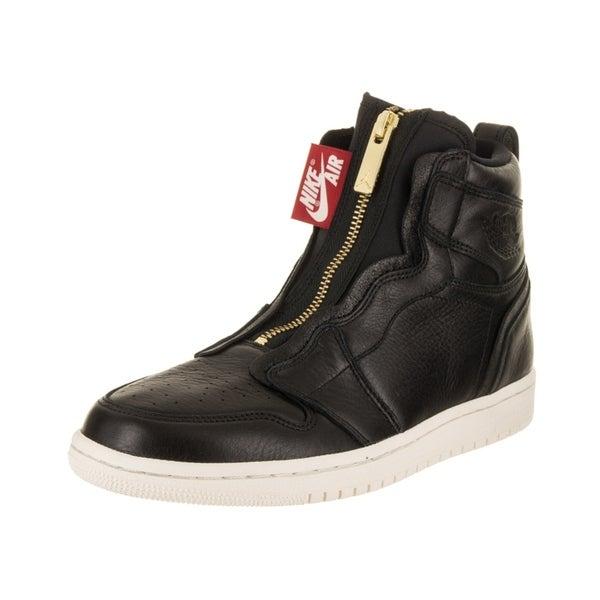 free shipping b8d07 ad2ea Nike Jordan Women  x27 s Air Jordan 1 High Zip Basketball Shoe