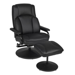 Impresa Swivel Recliner and Ottoman (2 options available)