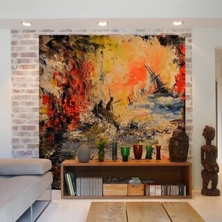 """Landscape Art Full Color Wall Decal Sticker AN-294 FRST Size30""""x30"""""""