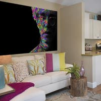 """Portrait Art Full Color Wall Decal Sticker AN-305 FRST Size40""""x63"""""""