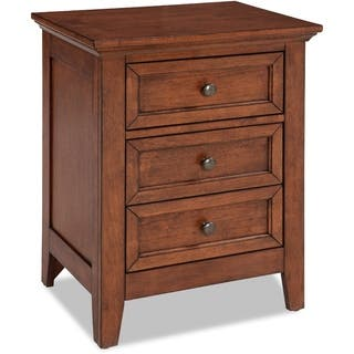 San Mateo Tuscan Brown 3-drawer Nightstand