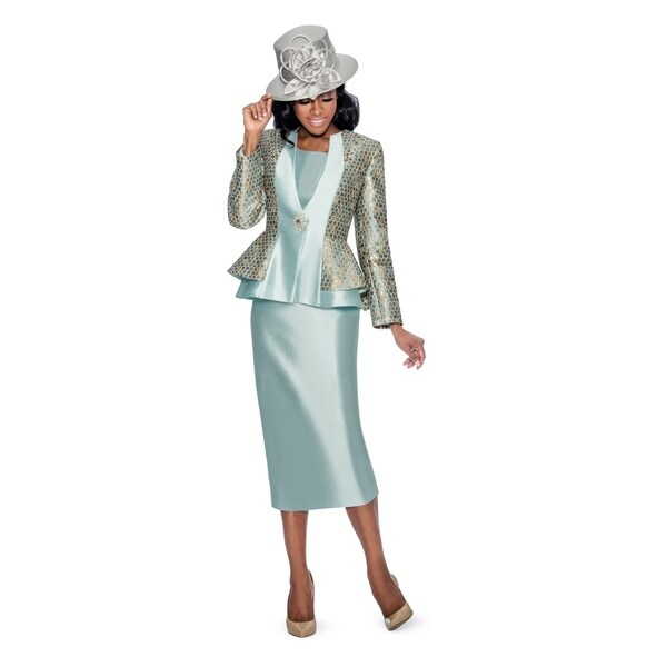Shop Giovanna Collection Women S Luxury Brocade Silk Wool Combo 3