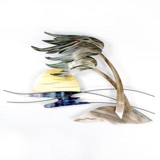 Windswept Palm