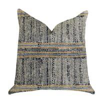 Plutus Promenade Way Textured Luxury Throw Pillow