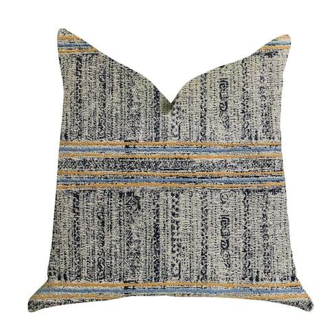 Plutus Promenade Way Textured Luxury Decorative Throw Pillow