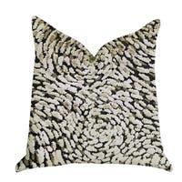 Plutus Mulberry Lasso Green Tones Luxury Throw Pillow
