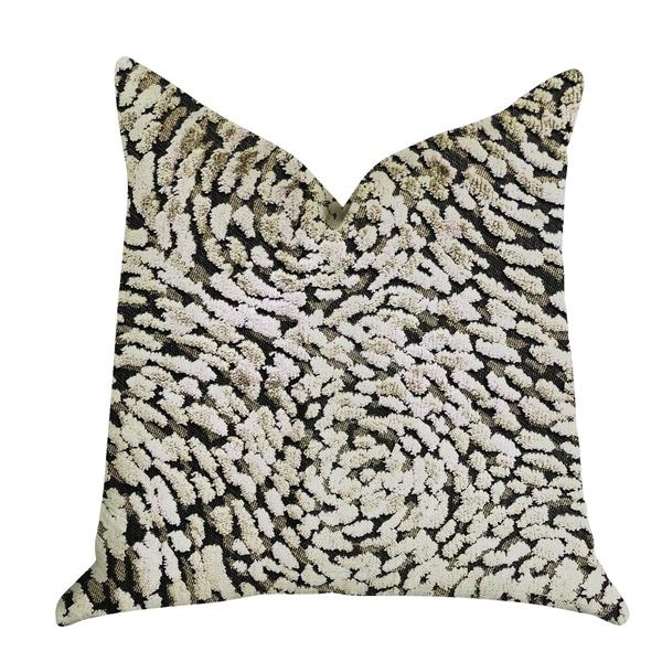 Plutus Mulberry Lasso Green Tones Luxury Decorative Throw Pillow
