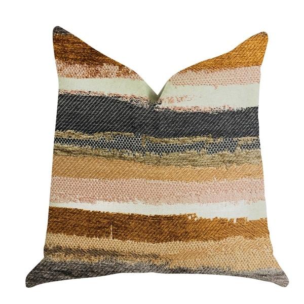 Plutus Bahia Belle Striped Luxury Decorative Throw Pillow