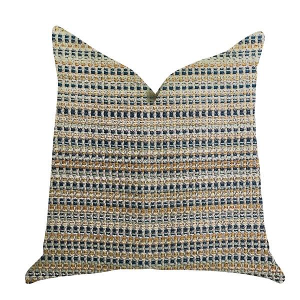 Plutus Peyton Braid Luxury Decorative Throw Pillow