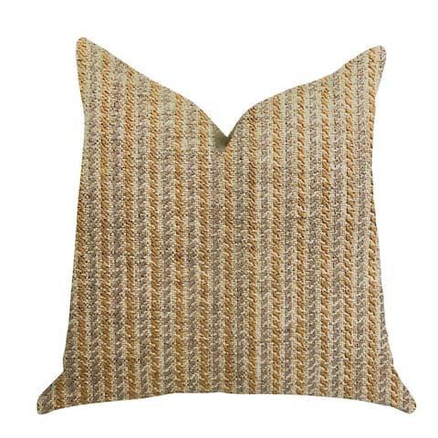 Plutus Woven Beliza Luxury Decorative Throw Pillow