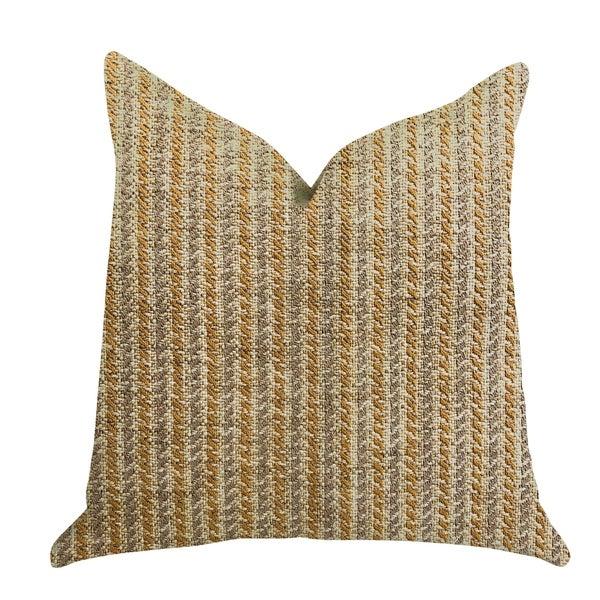 Plutus Woven Beliza Luxury Decorative Throw Pillow. Opens flyout.
