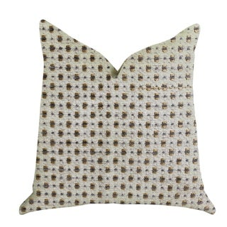 Plutus Haven Pointe Patterned Luxury Decorative Throw Pillow