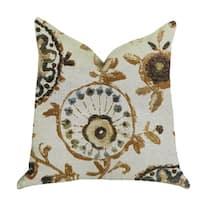 Plutus Daliani Floral Luxury Throw Pillow