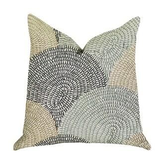 Plutus Marquee Lagoon Multiple Color Luxury Decorative Throw Pillow