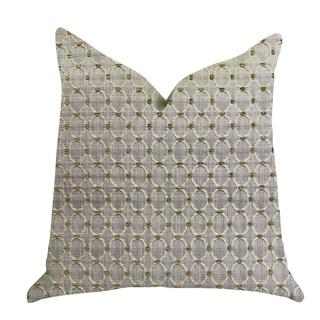 Plutus Circular Ringed Luxury Decorative Throw Pillow