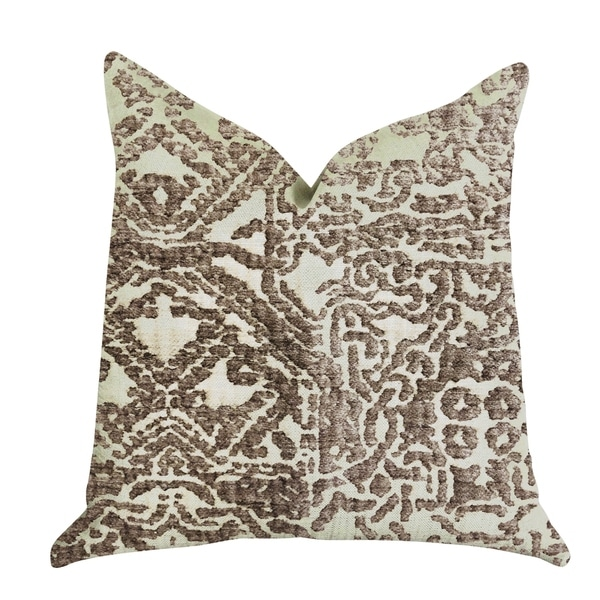 Plutus Dusky Cosmo Textured Luxury Decorative Throw Pillow