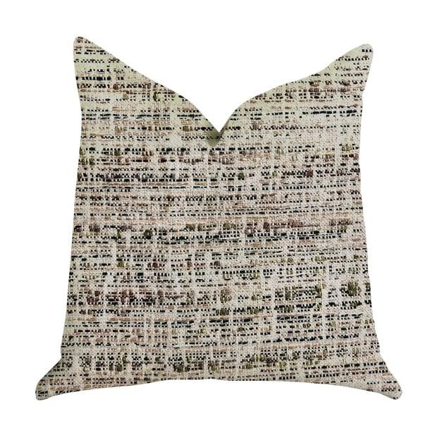 Plutus Secret Sandbox Multi Color Luxury Decorative Throw Pillow