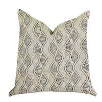Plutus Enigma Twist Luxury Throw Pillow