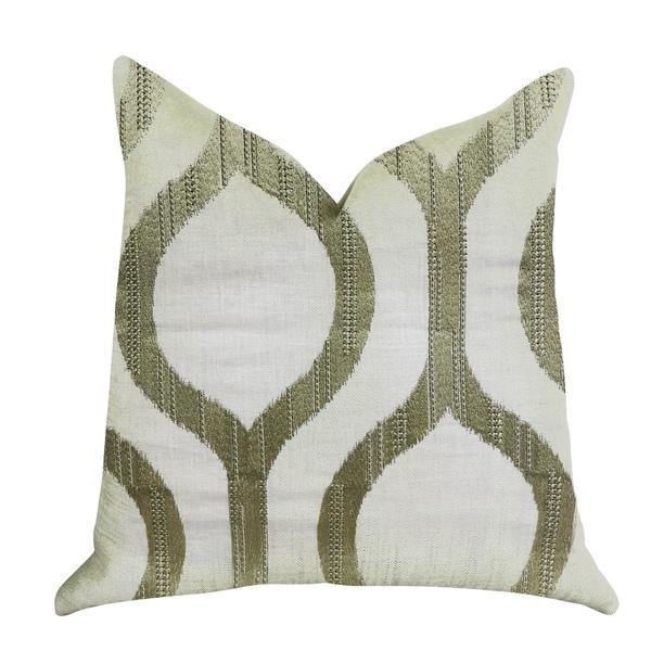 Plutus Morrocan Villa Light Grass Luxury Decorative Throw Pillow