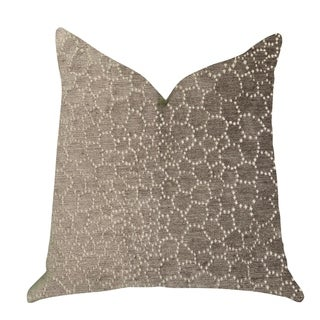 Plutus Bubbly Gal Luxury Decorative Throw Pillow in Beige Tones