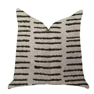 Plutus Poetry Lounge  Luxury Decorative Throw Pillow in