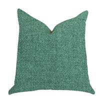 Plutus Grass Seed Luxury Decorative Throw Pillow in Green