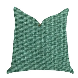 Plutus Grass Seed Luxury Throw Pillow in Green