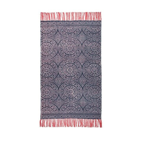 Annecy Hand Woven Printed Rug
