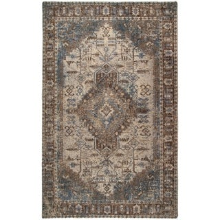 Montpellier Printed Piled Rug - 4' x 6'