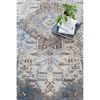 """Montpellier Printed Piled Rug - 5'5"""" x 7'5"""""""
