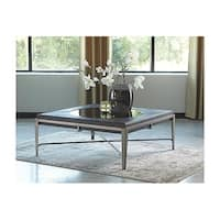 Signature Design by Ashley, Flandyn Contemporary Gray Coffee Table