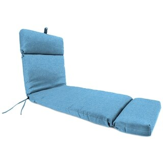 "Jordan Manufacturing Outdoor 22"" x 72"" x 4"" Chaise Cushion, 1-Pack,  Breamlane Blue"
