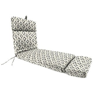 "Jordan Manufacturing Outdoor 22"" x 72"" x 4"" Chaise Cushion, 1-Pack, Inkwell Jet"