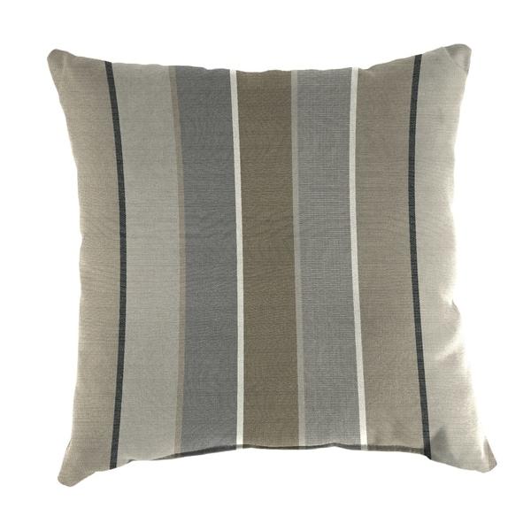"""Jordan Manufacturing Outdoor 16"""" x 16"""" Toss Pillows, Milano Char"""
